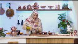 آموزش پخت حلوای گل و گلاب