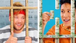 زندانی ثروتمند در مقابل زندانی فقیر - 17 وضعیت خنده دار