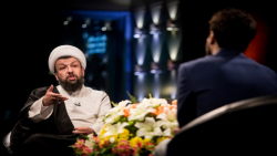 پشت صحنه ویژه برنامه هیئت آنلاین در گفتگو با حجت الاسلام مهدی حسن آبادی