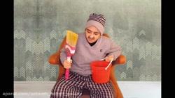فیلم خنده دار همبرگر های جدید سرنا