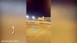 اصابت ۳ موشک به پایگاه آمریکایی ویکتوریا