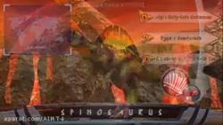 اسپاینوسورس و تی رکس vs ایندامینوس رکس