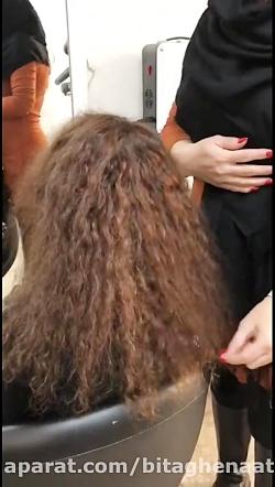 کراتین مو های وز