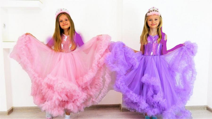 تصویر از چالش دخترونه بهترین لباس پرنسسی