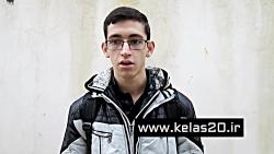 بسیج دانش آموزی ازنگاه دانش آموز گلستانی