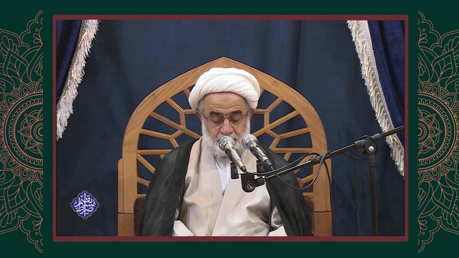 سخنرانی حضرت آیت الله تحریری - جلسه اول - رمضان 1400