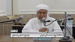 سخنرانی استاد شیخ محمد علی امینی موضوع عدل و احسان
