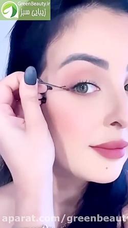 یک روش جالب برای درست کشیدن خط چشم گلدن رز