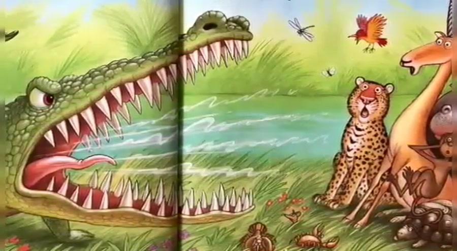 قصه کودکانه انیمیشنی زیبا بانام تمساح مغرور