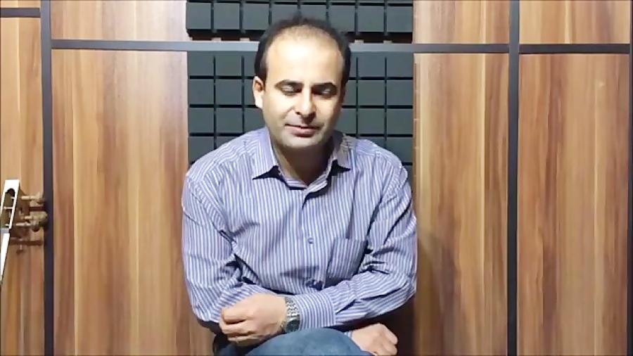 فیلم آموزش بخش ۱۵ مشکل جفت شدن سیم تار بنیادهای نوازندگی تار محمدرضا لطفی نیما فریدونی