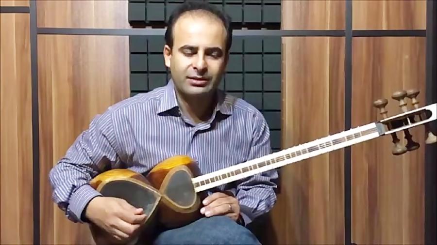 فیلم آموزش بخش ۲۰ رابطه ی مضراب با مچ و ساعد بنیادهای نوازندگی تار محمدرضا لطفی نیما فریدونی