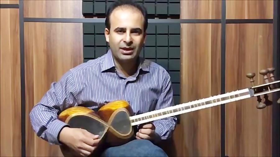 فیلم آموزش بخش ۲۳ مچ و چرخش مضراب بنیادهای نوازندگی تار محمدرضا لطفی نیما فریدونی