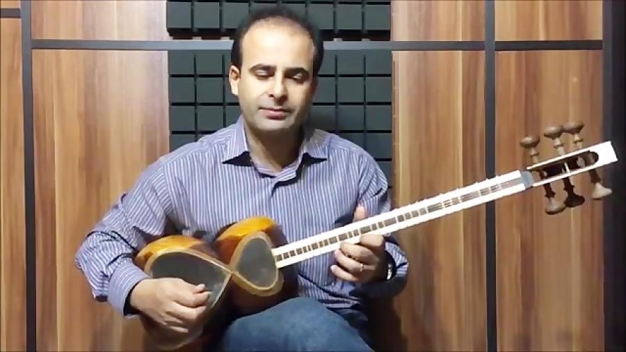 فیلم آموزش بخش ۲۶ مضراب راست و چپ بنیادهای نوازندگی تار محمدرضا لطفی نیما فریدونی