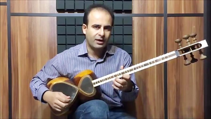 فیلم آموزش بخش ۳۶ مضراب خاموش یا خفه بنیادهای نوازندگی تار محمدرضا لطفی نیما فریدونی