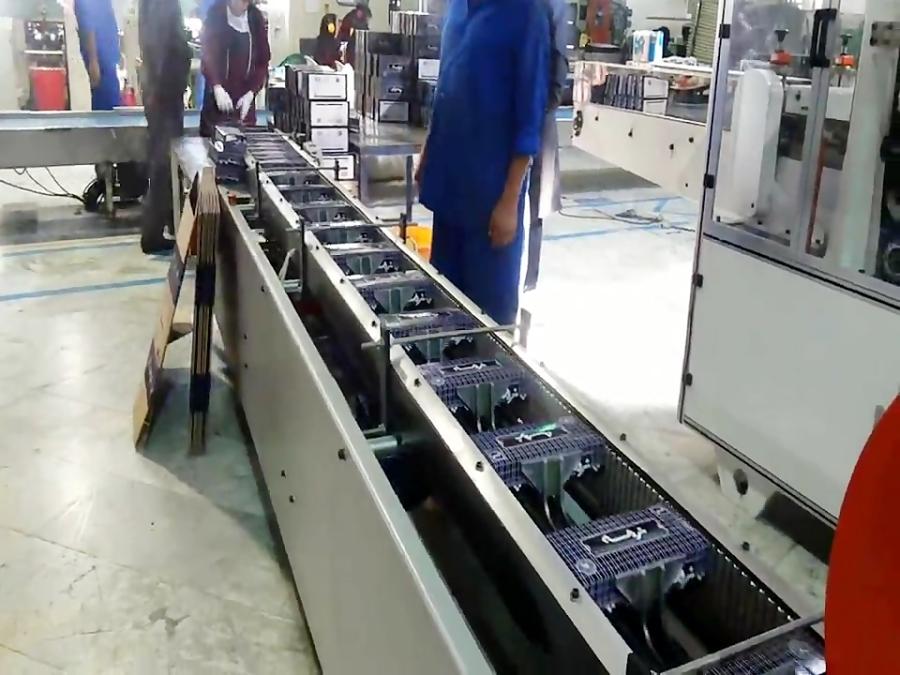 دستگاه نیمه اتوماتیک 2رو چسب سرد