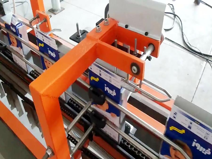 دستگاه درب بندی جعبه پودر های شوینده