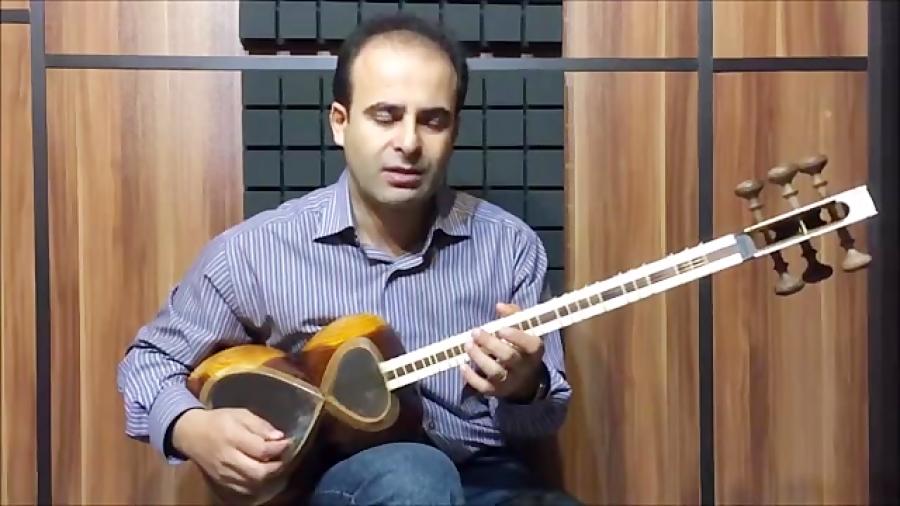 فیلم آموزش بخش ۴۲ مضراب انگشتی بنیادهای نوازندگی تار محمدرضا لطفی نیما فریدونی