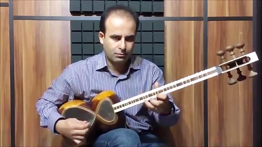 فیلم آموزش بخش ۴۹ مضراب غنه بنیادهای نوازندگی تار محمدرضا لطفی نیما فریدونی