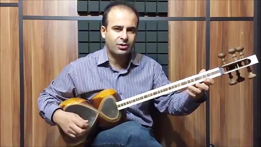 فیلم آموزش بخش ۶۵ دست پنجه بنیادهای نوازندگی تار محمدرضا لطفی نیما فریدونی