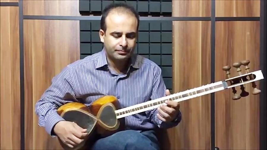 فیلم آموزش بخش ۷۵ جابجایی پنجه بنیادهای نوازندگی تار محمدرضا لطفی نیما فریدونی