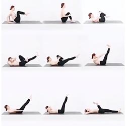 تمرین ورزشی کمر باریک