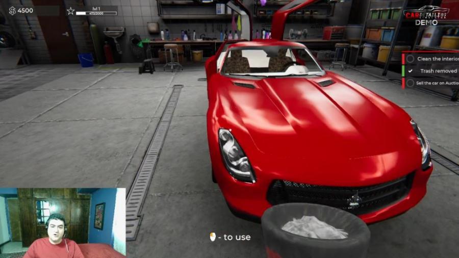 بازی شبیه ساز کارواش Car Detailing Simulator