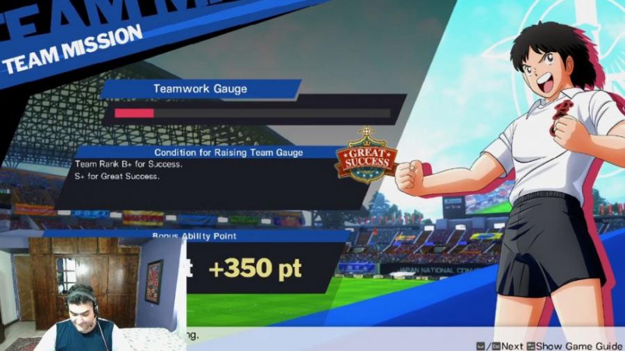 گیم پلی بازی کاپیتان سوباسا Captain Tsubasa پارت پنجاه و هشتم