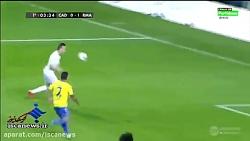 خلاصه بازی : رئال مادرید 3 - 1 کادیز
