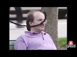 دوربین مخفی خنده دار مرد خنده دار - Motefavetha.com