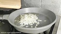 دستور پخت پلو رنگی (غذا...