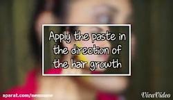 از بین بردن موی زائد صورت