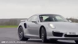 آئودی R8 در مقابل پورشه 911 Turbo S - مجله evo