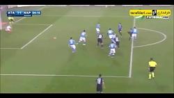 خلاصه بازی ناپولی 3 - 1 آتالانتا