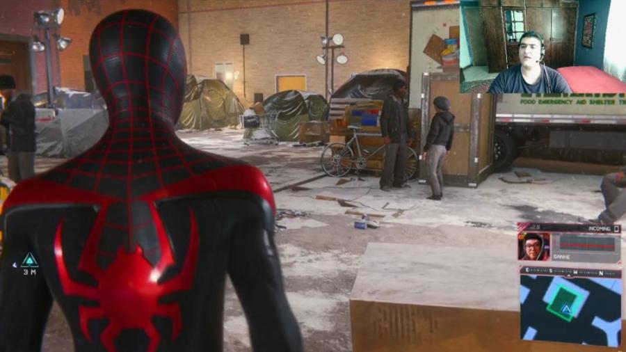 بازی مردعنکبوتی مایلز مورالز SpiderMan: Miles Morales پارت دهم