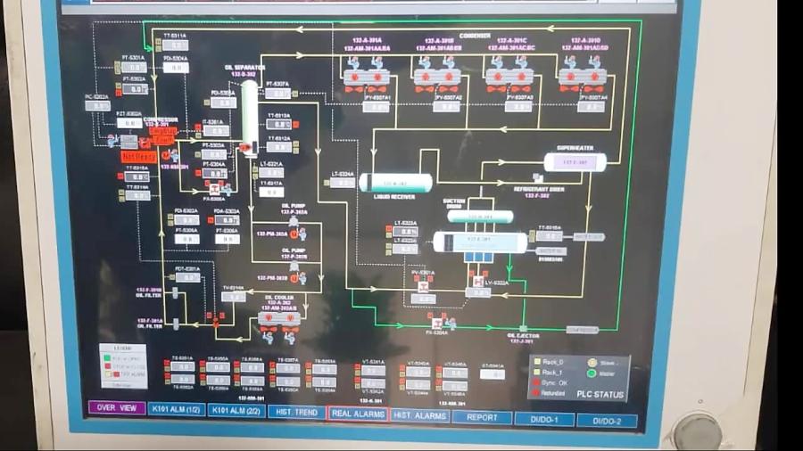 تعمیر پانل پی سی  PC Panel پیشرفته فازهای پارس جنوبی