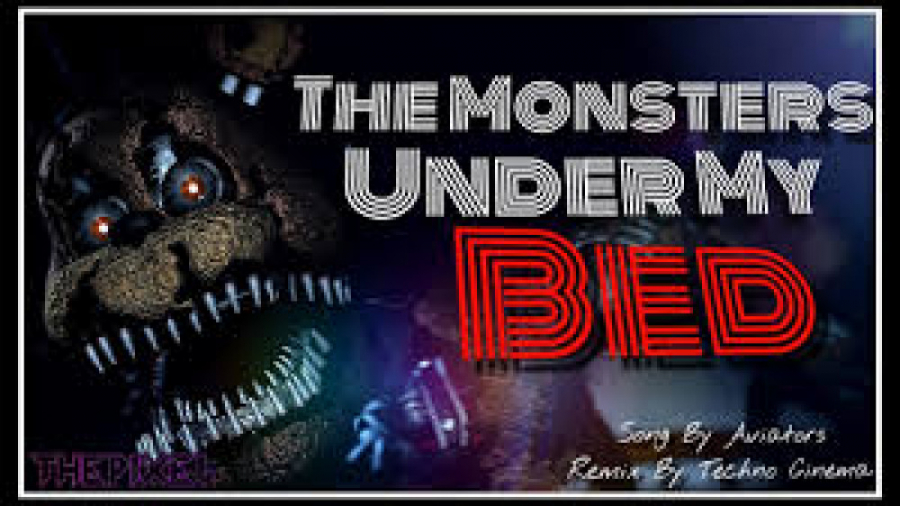 آهنگ فناف (هیولاها زیر تخت خواب من هستن) زیرنویس توسط خودم