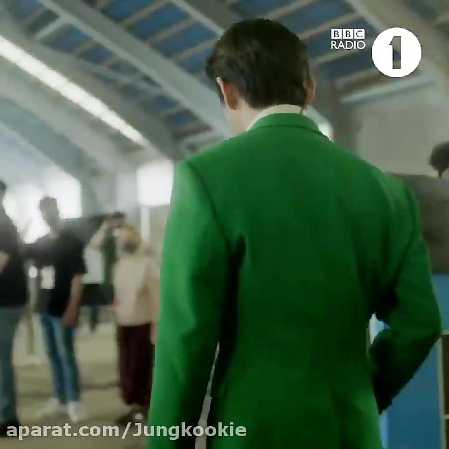 تیزر اجرای بی تی اس در رادیو bbc