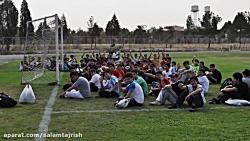 جشن فارغ التحصیلی دوره 11 دبیرستان سلام تجریش سال94