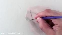 ترسیم نقاشی سه بعدی - قطره آب