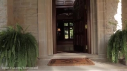 معماری گرانقیمت ترین ویلای گرجستان - ©WWW.KAMOCAD.COM