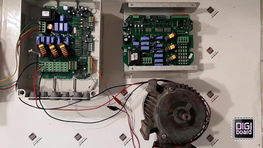 تعمیر برد کنترل سرعت فن چیلر