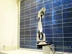 ساخت بازوی رباتیک