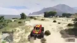 Rko با استفاده از ماشین در GTA V