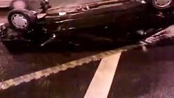 تصادف در تونل رسالت تهران