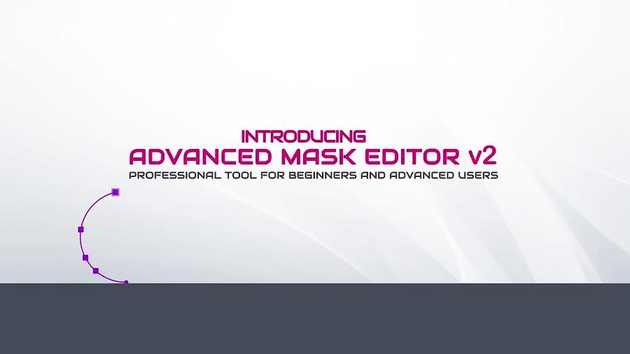 اسکریپت ماسک حرفه ای در افترافکت  Advanced Mask Editor 2