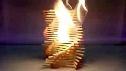 Amazing Fire Domino