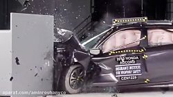 تست تصادف Honda Accord 4-door 2013