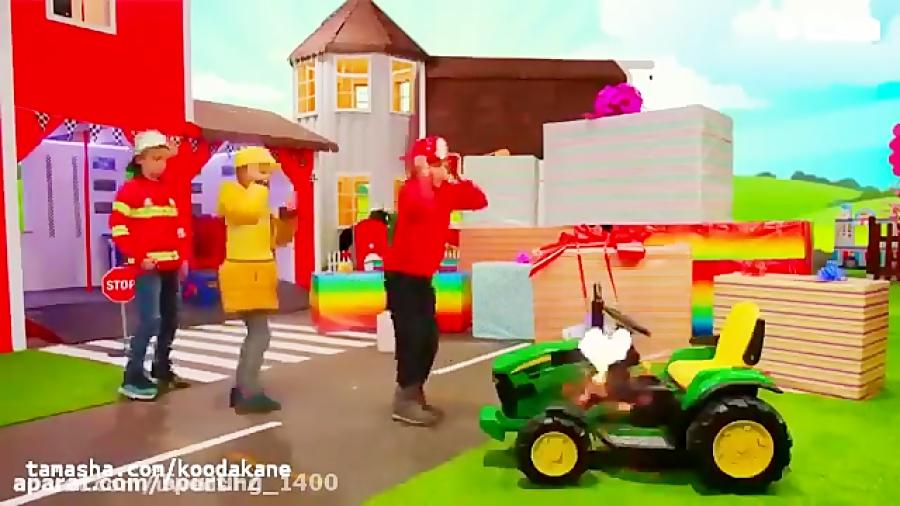 ماشین بازی کودکانه - کلیپ ماشین بازی - ماشین بازی