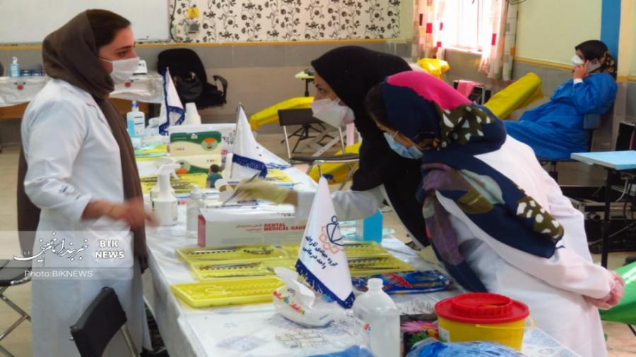 خدمترسانی پزشکی تخصصی گروه جهادی ثارالله تهران در بندر امام خمینی
