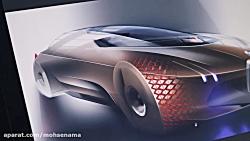 روند طراحی BMW vision next 100